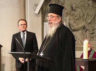 Erzpriester Radu Constantin Miron, Vorsitzender der ACK in Deutschland.
